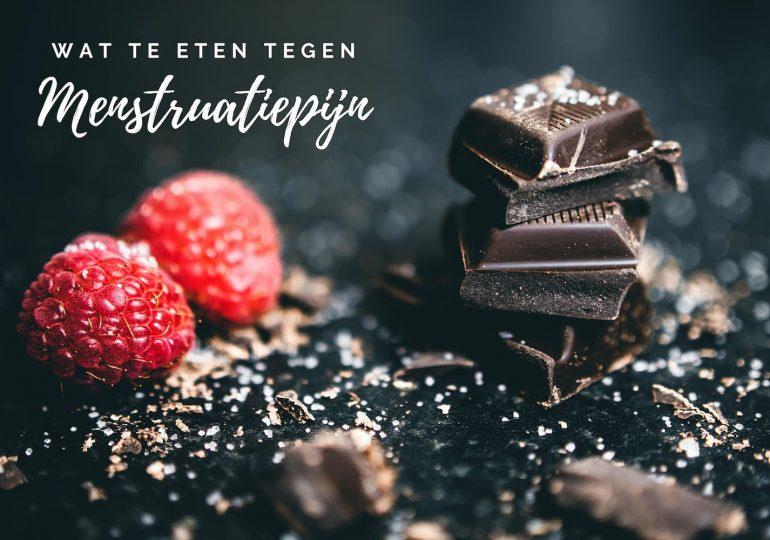 Eten tegen menstruatiepijn; helpt chocolade wanneer je ongesteld bent?