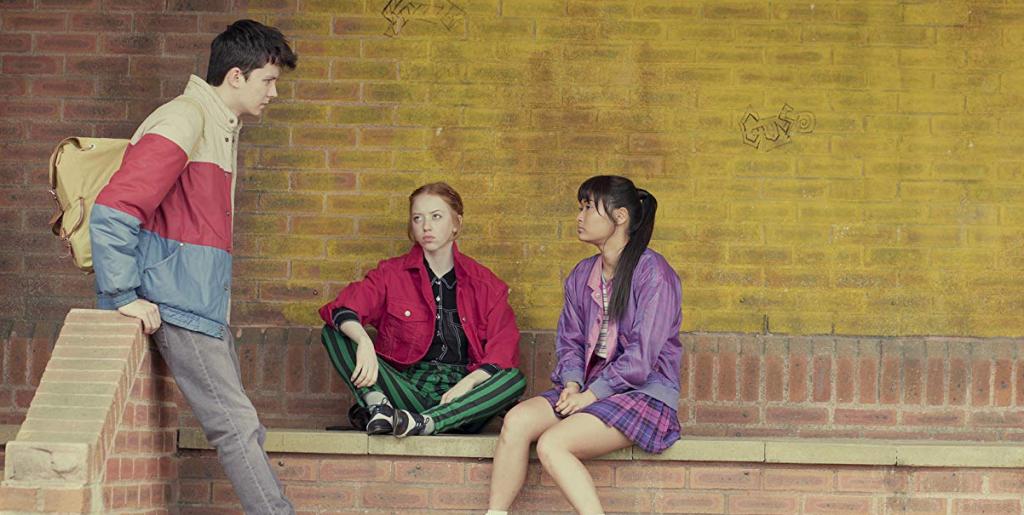 Lesbische series Netflix - sex education