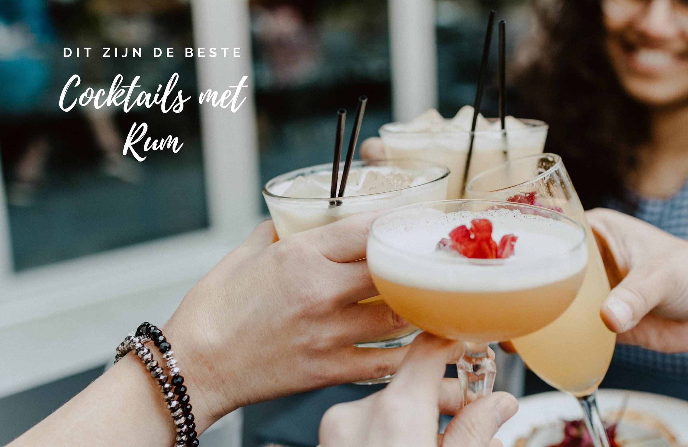 Zo maak jij de beste cocktail met rum!