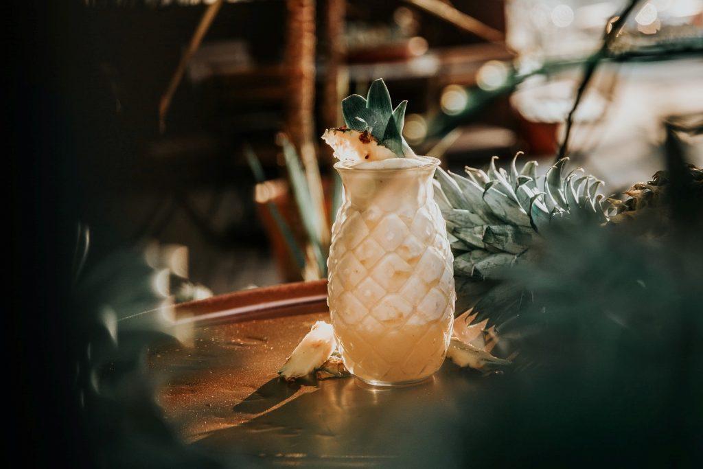 cocktail met rum - pina colada recept