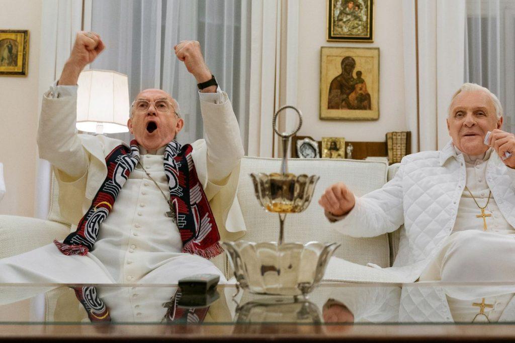 Waargebeurde films en verhalen op Netflix; The Two Popes